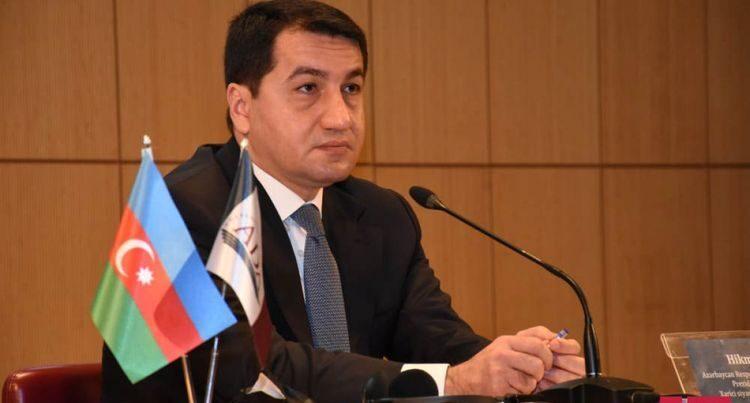 Хикмет Гаджиев: Cкрывая карты минных полей, Армения препятствует процессу восстановления